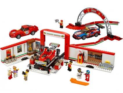 LEGO Speed Champions - Úžasná garáž Ferrari - LEGO75889