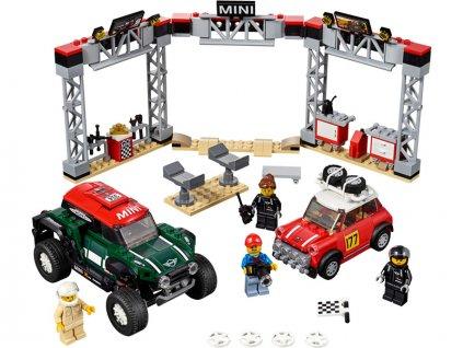 LEGO Speed Champions - 1967 Mini Cooper S Rally a 2018 MINI John Cooper Works Buggy - LEGO75894