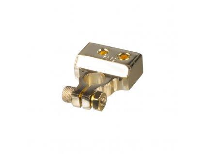 Zlacená svorka (-) pólu baterie (4 in) 1x50, 1x20, 2x10 mm2 - g4-31