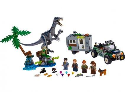 LEGO Jurský Park - Setkání s Baryonyxem: Hon za pokladem - LEGO75935