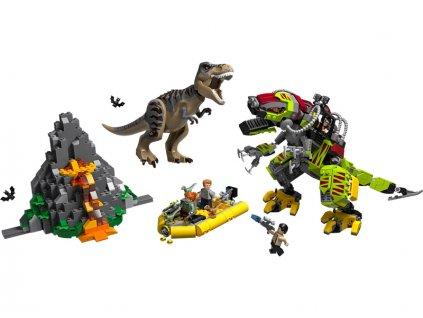 LEGO Jurský Park - T. rex vs. Dinorobot - LEGO75938