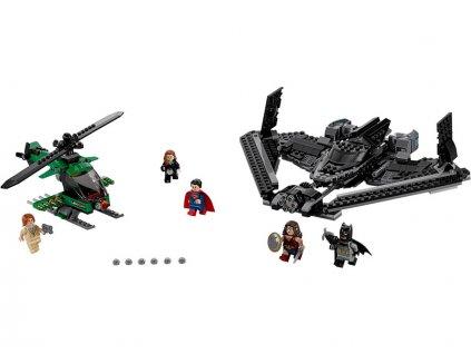 LEGO Super Heroes - Hrdinové spravedlnosti: souboj vysoko v oblacích - LEGO76046