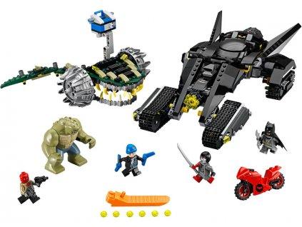 LEGO Super Heroes - Batman™: Killer Croc™ Zničení ve stokách - LEGO76055