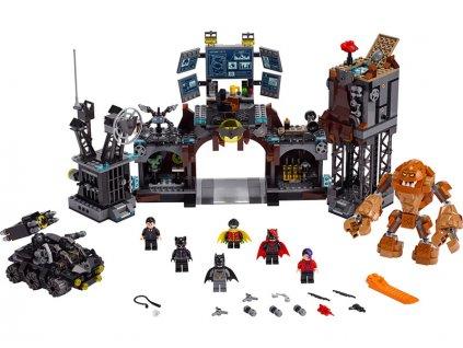 LEGO Super Heroes - Clayface útočí na Batmanovu jeskyni - LEGO76122
