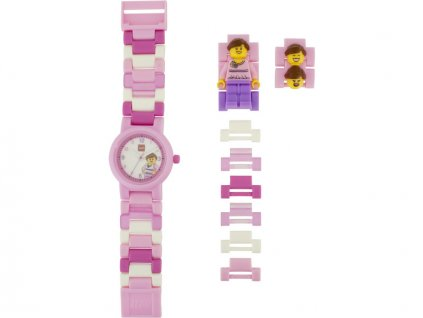 LEGO hodinky - Classic Pink - LEGO8020820