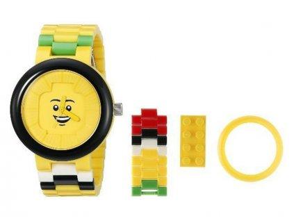 LEGO hodinky pro dospělé - Happiness Yellow - LEGO9007347