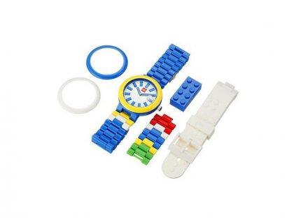 LEGO hodinky pro dospělé - Brick Blue - LEGO9008016