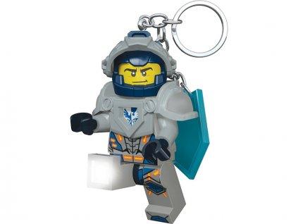 LEGO svítící klíčenka - Nexo Knights Clay - LGL-KE87
