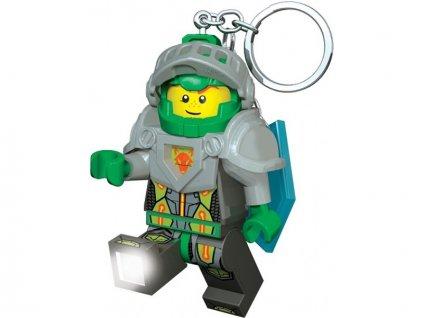 LEGO svítící klíčenka - Nexo Knights Aaron - LGL-KE98