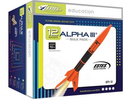 Estes Alpha III E2X (12ks) - RD-ES1751
