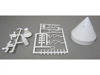 Estes plastové díly: Apollo Capsule (Little Joe II) - RD-ES33060