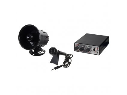 Hobby zvukový systém 15W (35 variant zvuků zvířat a sirén + mikrofon) - SI-735