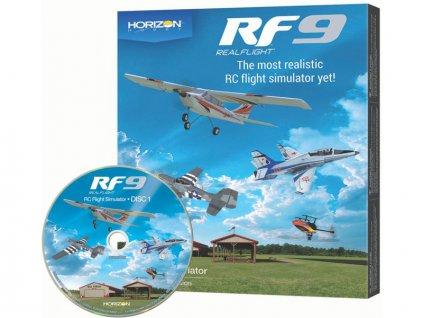 RealFlight 9 simulátor jen software - RFL1101