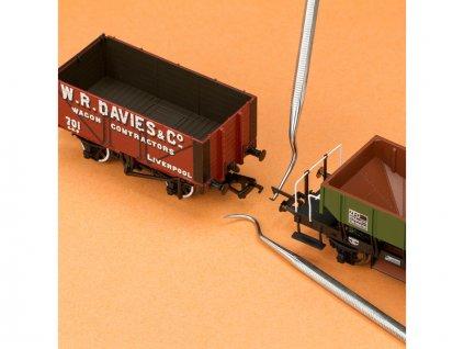 Modelcraft mini háčky z nerezové oceli (sada 6ks) - SH-PDT5197