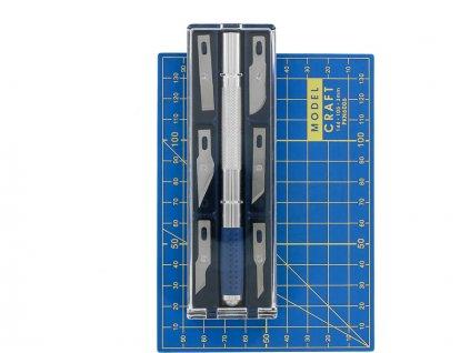 Modelcraft řezací nůž s podložkou A6 - SH-PKN2008