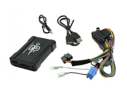 Connects2 - ovládání USB zařízení OEM rádiem Fiat,Alfa Romeo/Blaupunkt AUX vstup - 55usbfa001