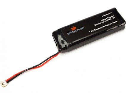 Spektrum baterie vysílače LiPol 2600mAh DX18 - SPMB2600LPTX