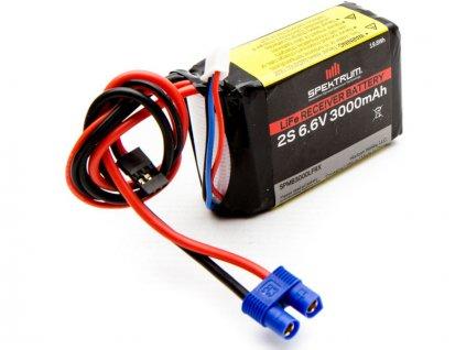 Spektrum baterie přijímače LiFe 6.6V 3000mAh - SPMB3000LFRX