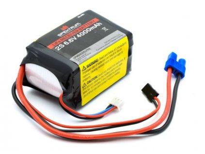 Spektrum baterie přijímače LiFe 6.6V 4000mAh - SPMB4000LFRX