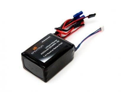 Spektrum baterie přijímače LiPol 7.4V 4000mAh - SPMB4000LPRX
