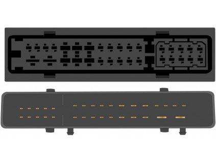 Kabeláž pro HF PARROT/OEM Audi A6,Q7 MMI (stříbrný zesilovač) - sot-099