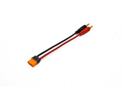 Spektrum nabíjecí kabel IC3 s banánky 30cm, 13AWG - SPMXCA304