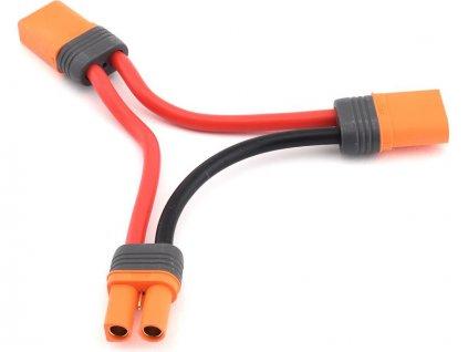 Spektrum sériový kabel IC5 s bat. konektorem 15cm 10AWG - SPMXCA506