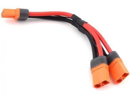 Spektrum Y-kabel IC5 s bateriovým konektorem 15cm 10AWG - SPMXCA509