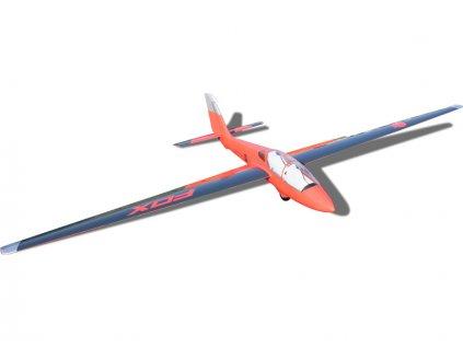 Fox 3.5m ARF červeno/modrý - TA-21100