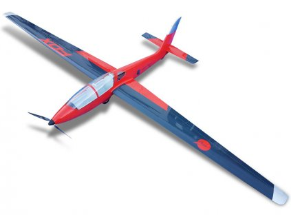 Tomahawk Fox 3.5m FRP červeno/modrý ARF - TA-21100