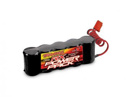 Traxxas NiMH baterie RX 1200mAh 6.0V plochá - TRA3036