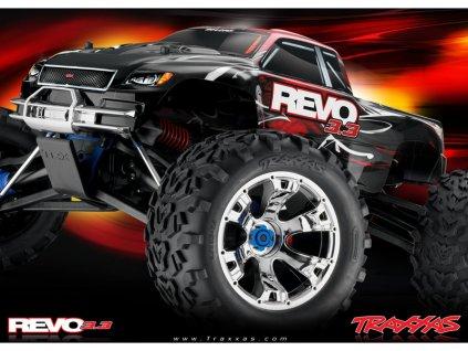 Traxxas Nitro Revo 1:8 TQi s BlueTooth RTR stříbrné - TRA53097-3-SLV