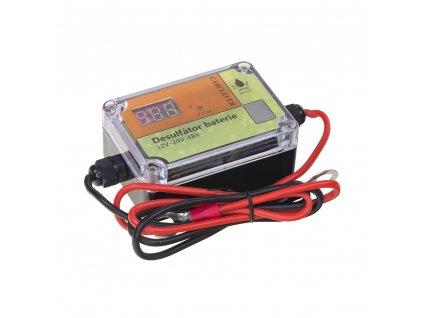 Desulfator - oživovač baterií 12V-48V, 200Ah - 35942