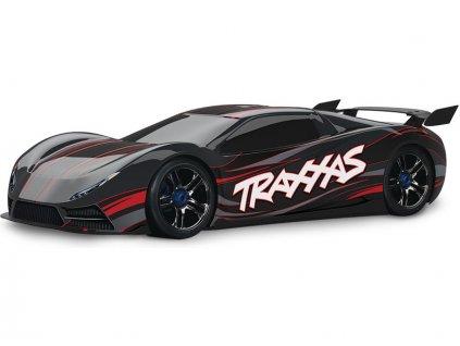 Traxxas XO-1 1:7 TQi BlueTooth RTR černé - TRA64077-3-BLK