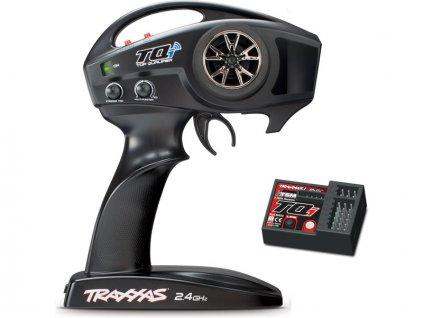 Traxxas vysílač TQi 2 kan., BlueTooth modul, přijímač TSM - TRA6509R