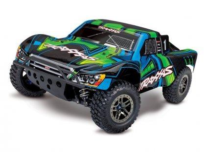 Traxxas Slash Ultimate 1:10 4WD VXL TQi RTR zelený - TRA68077-4-GRN