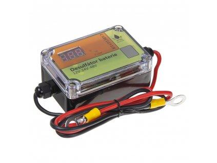 Desulfator - oživovač baterií 12V-48V, 400Ah - 35944
