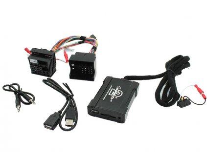 Connects2 - ovládání USB zařízení OEM rádiem BMWnew/AUX vstup - 55usbbm007