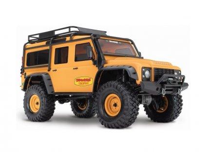 Traxxas TRX-4 Land Rover Defender 1:10 TQi RTR Trophy - TRA82056-4-C