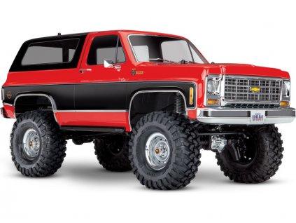 Traxxas TRX-4 Chevrolet K5 Blazer 1:10 RTR červený - TRA82076-4-RED