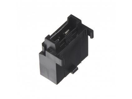 pouzdro na plochou MIDI pojistku černé, 10 ks - 43011
