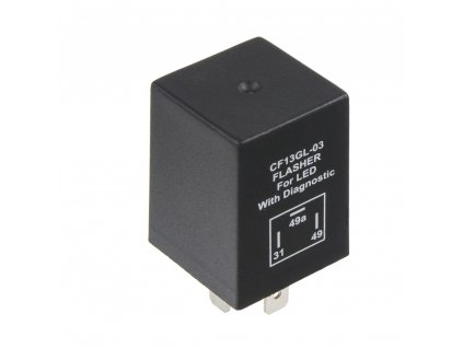 přerušovač blinkrů LED, 12V, 1-10A pro evropské vozy - 46050