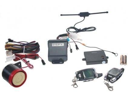 SPY 2-WAY motoalarm, 2 x LCD ovladač, CE - spy21