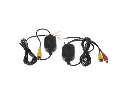 Sada přijímač/vysílač pro bezdrátový VIDEO přenos - 80339