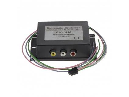 adaptér A/V vstup pro OEM navigaci BMW CCC/CIC/E65  - mi095