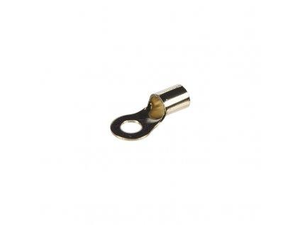 GOLD kabelové očko M8 pro kabel 20mm, 10 ks - n-36