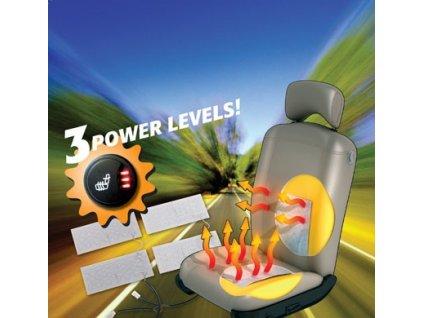 OT102527 TotalCar 3-stupňové vyhřívání sedaček