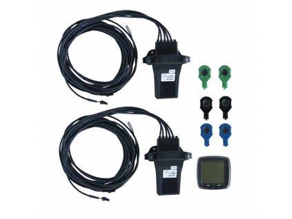 Parkovací systém zadní (4 čidla) + přední (2 čidla) + displej - fbsn-6rf