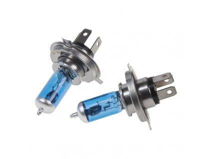 Halogen. žárovka 24V s paticí H4, Blue white 4300K, 75/70W - 924H41B