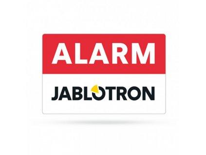 SAM-252.10 Samolepka vnější ALARM Jablotron